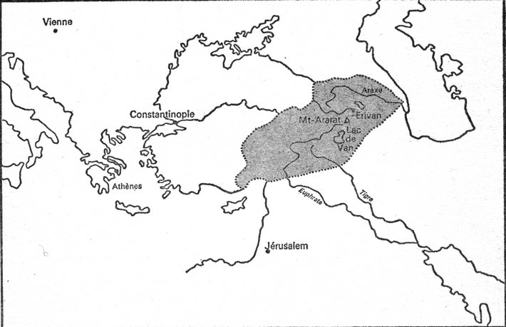 L'Arménie historique (Atlas du Times)