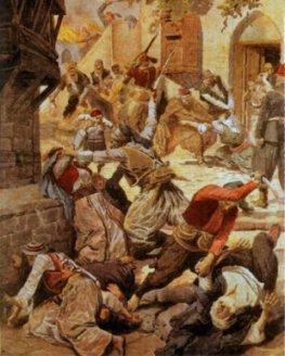 Le genocide armenien, illustration du Petit Journal