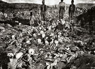massacrés lors du génocide arménien